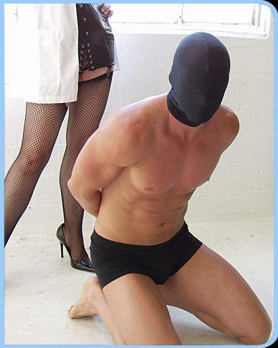 Spandex Hood W/ Built In Blindfold