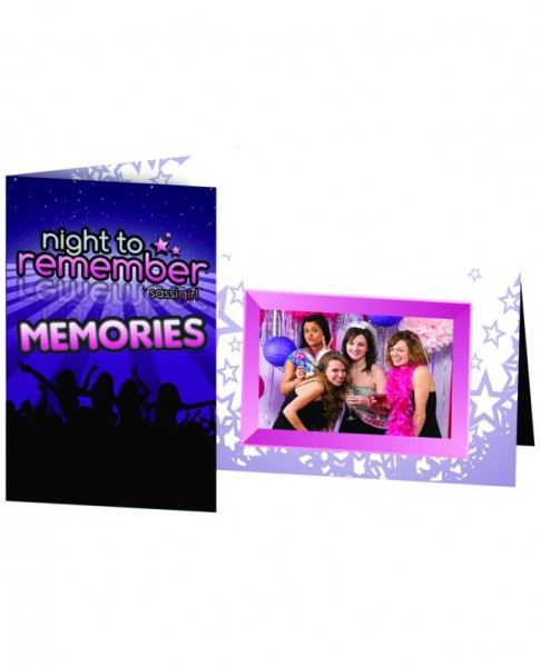 Night To Remember Photo Frame